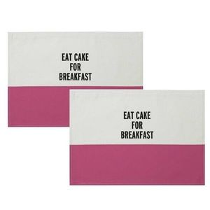 Kate Spade Eat Cake For Breakfast Placemat